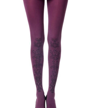 Flower Girl: Burgundy Tights,TIGHTS,Shop Leg Appeal