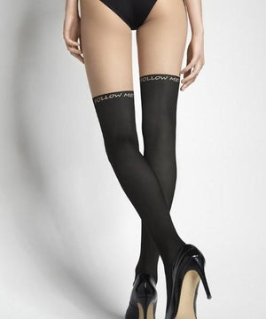 Follow Me - Thigh-high Tights