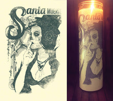 Day of the Dead, Dia De Los Muertos, Sugar Skull, Scented Candle, Prayer Candle, Good Vibes Only, Gifts for Her, Best Scented Candles,