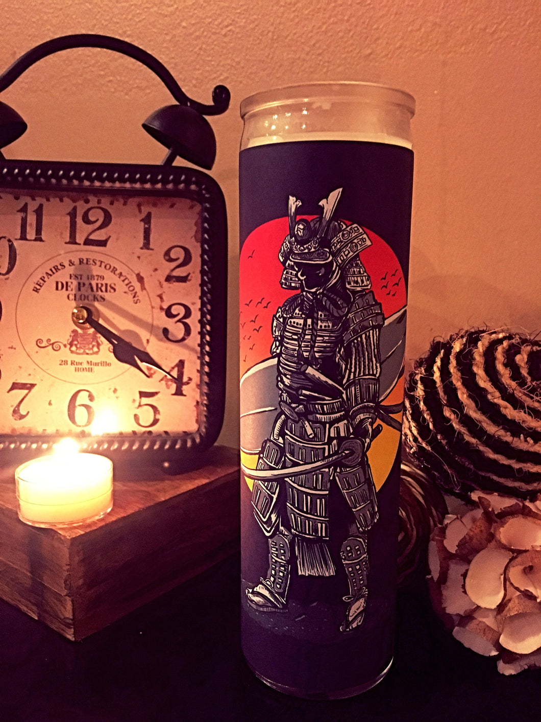 Samurai, Surfing, Japanese Art, Scented Candle, Prayer