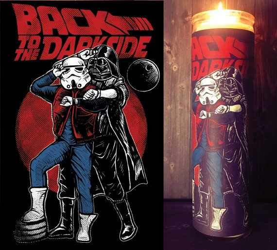 Back To The Future, Star Wars Rogue One, Scented  Candle, Prayer Candle, Gift Idea, Darth Vader, Gifts for Him, Best Scented Candles,
