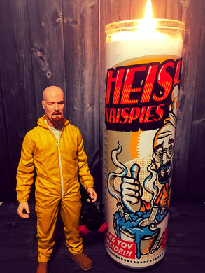 Breaking Bad, Walter White, Heisenberg, Prayer Candle, Gift Idea, Gifts for Him, Best Scented Candles, Breaking Bad Gift, Art
