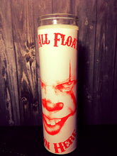 Halloween gift, Stephen king It, Stephen King, Pennywise, Pennywise The clown, Horror, Scented candle, Prayer candle, creepy gifts,