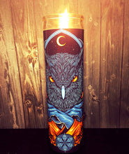 Mystic, Mystic Messenger, Barn Owl, Owl Decor, Bird owl, Bird design, Scented Candle, Candle, Prayer candle, Gift for him, Cool Gifts, Gift