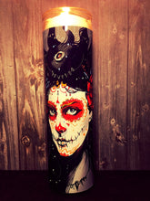 Santa Muerte, Day of the Dead, Sugar Skull, Prayer Candle, Gift Idea, Gifts for Him, Gifts for Her, Best Scented Candles, Sugar SkullDecor