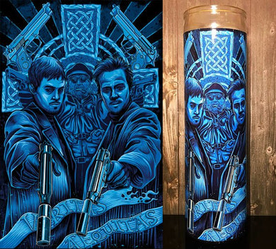 Boondock Saints, norman reedus, boondock, veritas, aequitas, Prayer Candle, Gift Idea, Gifts for Him, Gifts for Her, Best Scented Candles,