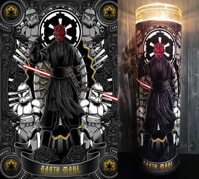 Darth Maul, Star Wars Rogue One, Darth Vader, Jedi, The Phantom Menace, Gift Idea, Gifts for Him, Best Scented Candles, Sith