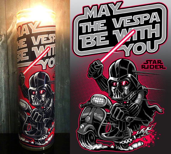 May The Vespa Be With You