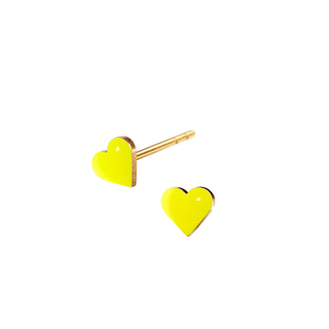 TINY heart · NEON YELLOW