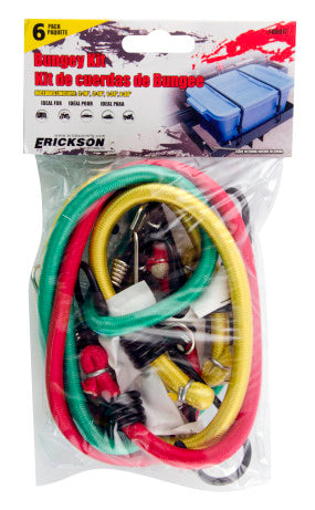 Erickson 6-Pack Bungey Kit