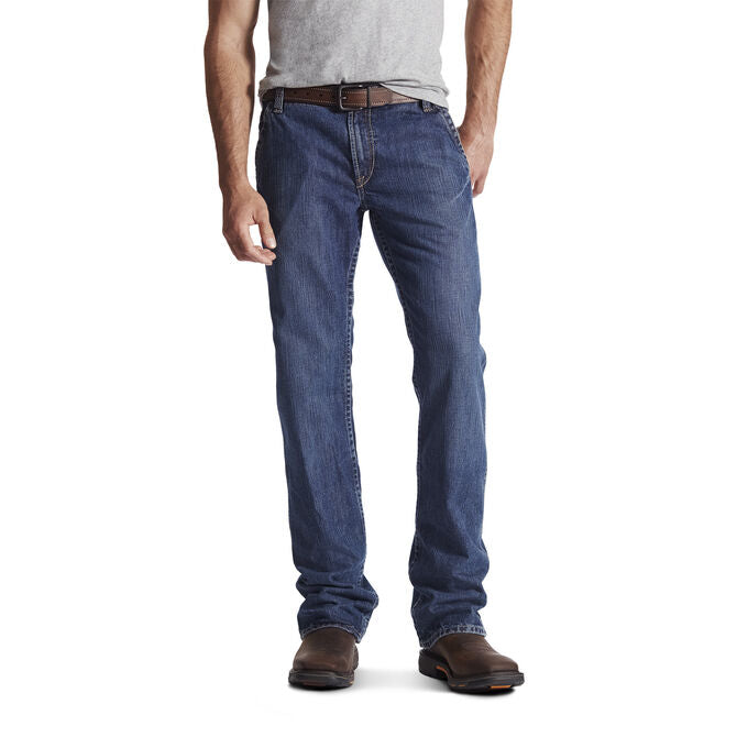 ARIAT FLINT LOW RISE BOOT CUT CARPENTER WORK JEANS