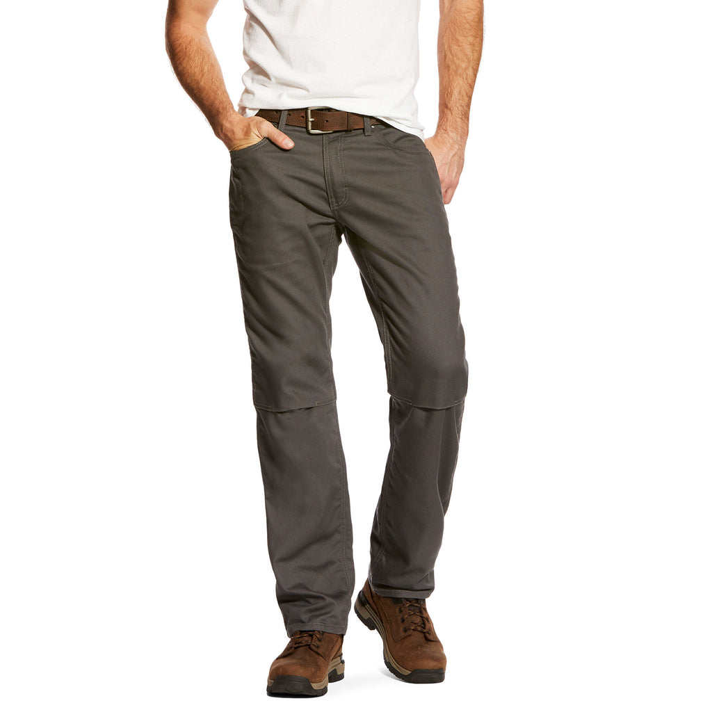 Ariat Rebar M4 Low Rise DuraStretch Canvas 5 Pocket Boot Cut Pant #10023483