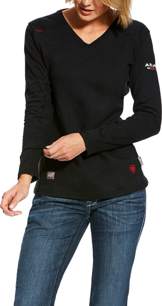Ariat Womens FR AC Long Sleeve Top