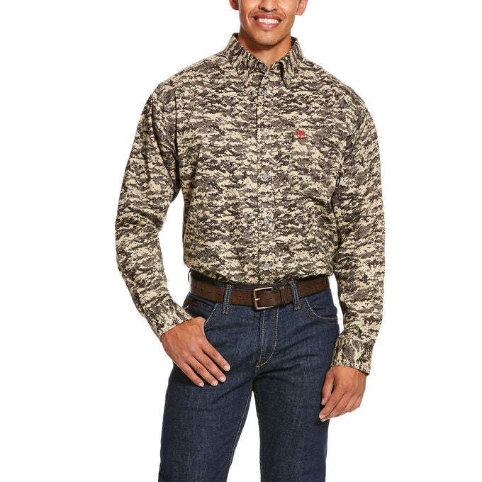 Ariat FR Camo Patriot Work Shirt #10027884