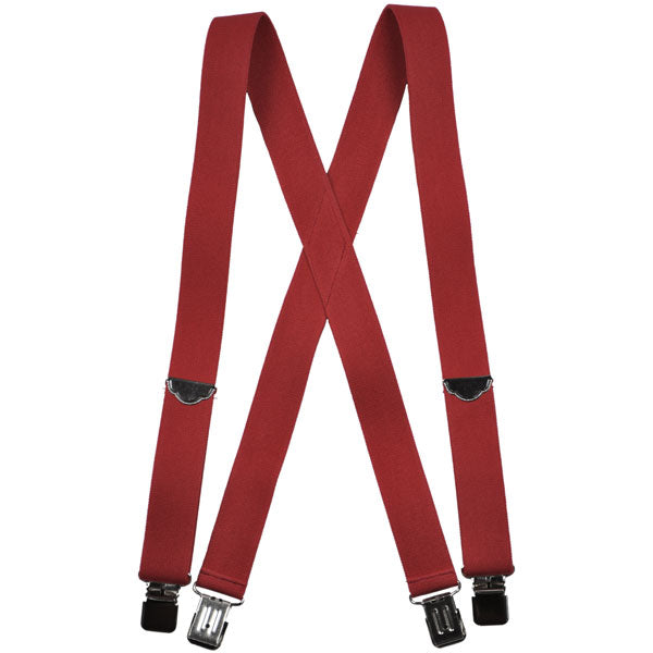 Welch X-Back Gator Clip Suspenders