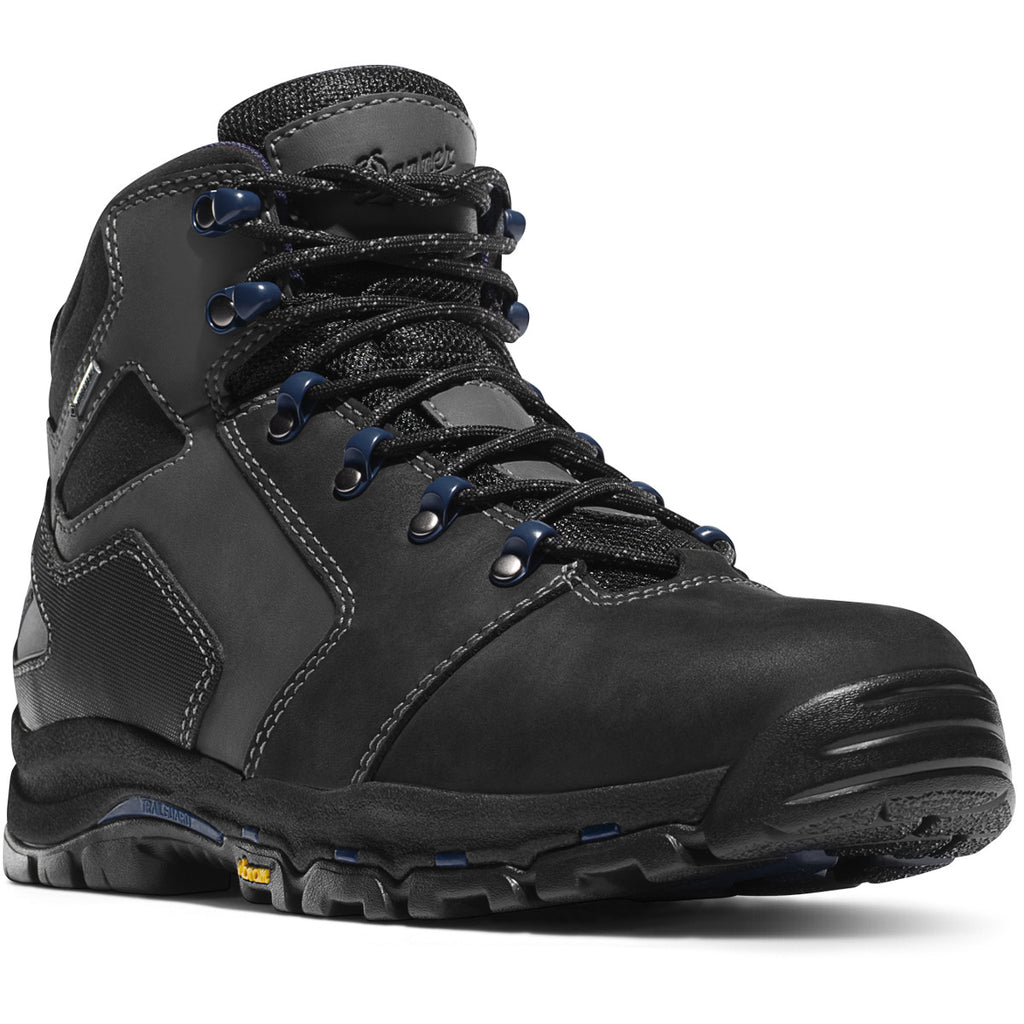 "Danner Vicious 4.5"" Black/blue NMT Work Boot #13864"