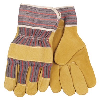 Kinco Pigskin Leather Palm Multi-Purpose Work Gloves - Large