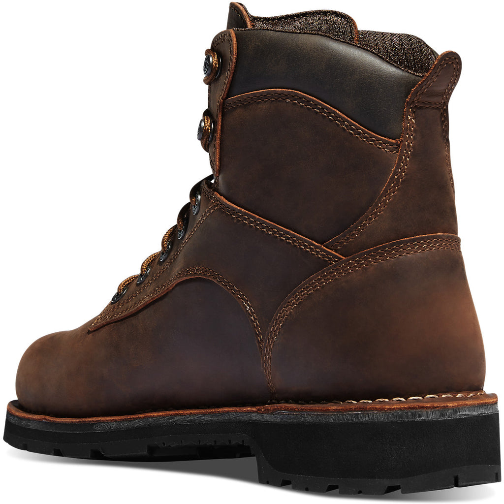 "Workman 6"" Brown Alloy Toe Work Boots #16283"