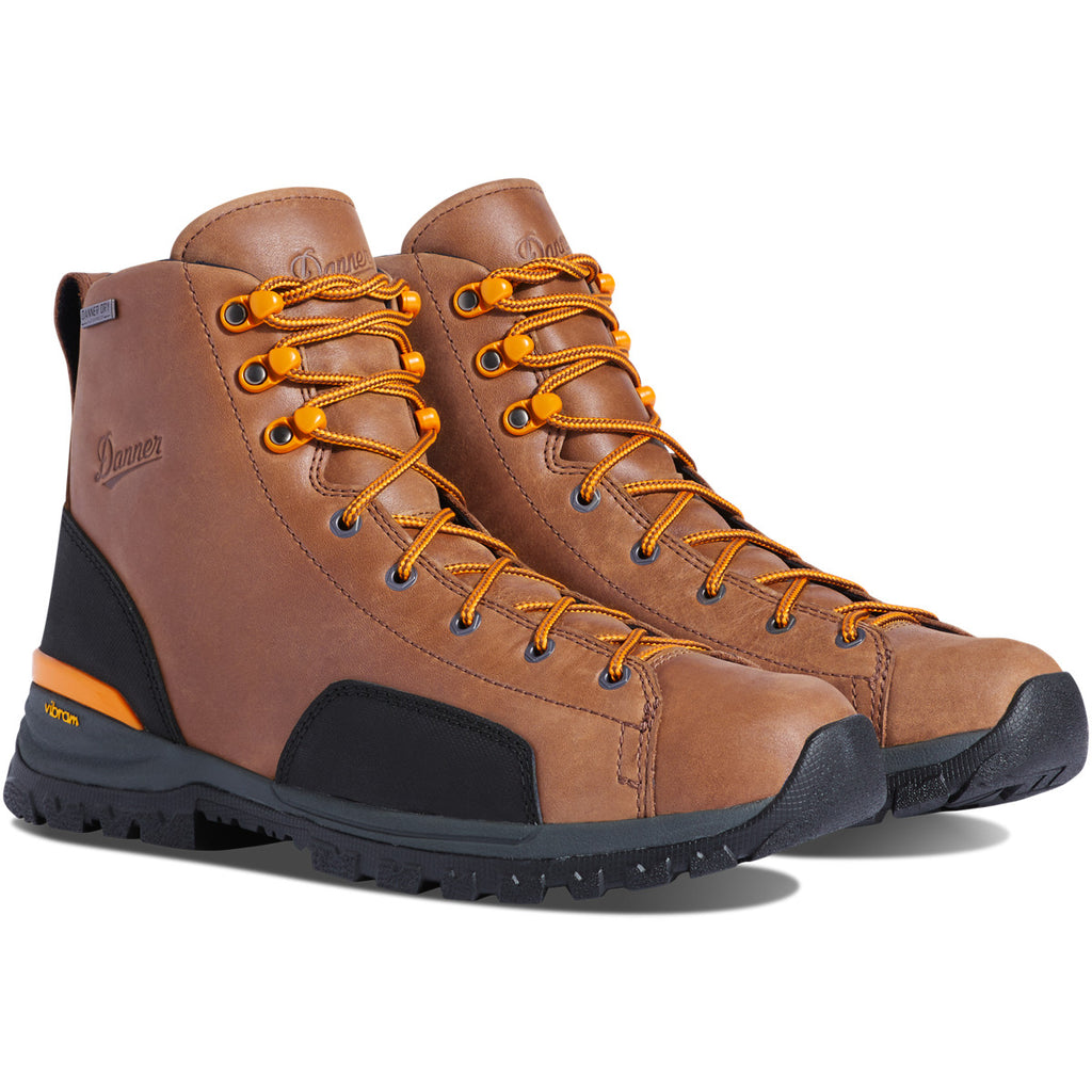 "Danner Stronghold 6"" Brown Soft Toe #16711"