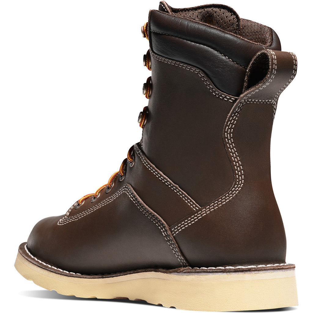 "Danner Quarry USA 8"" Brown Wedge #17327"