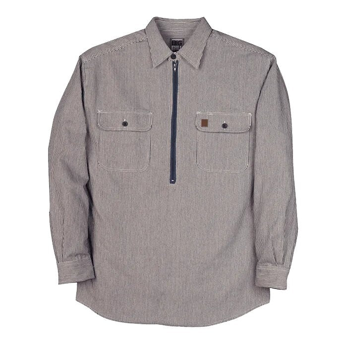 Big Bill Zip Up Hickory Long Sleeve Shirt