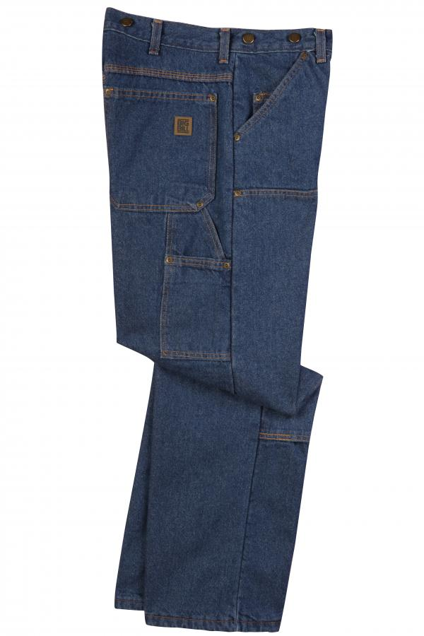 Big Bill Heavy Duty Logger Fit Jeans With Double Reinforced Knee