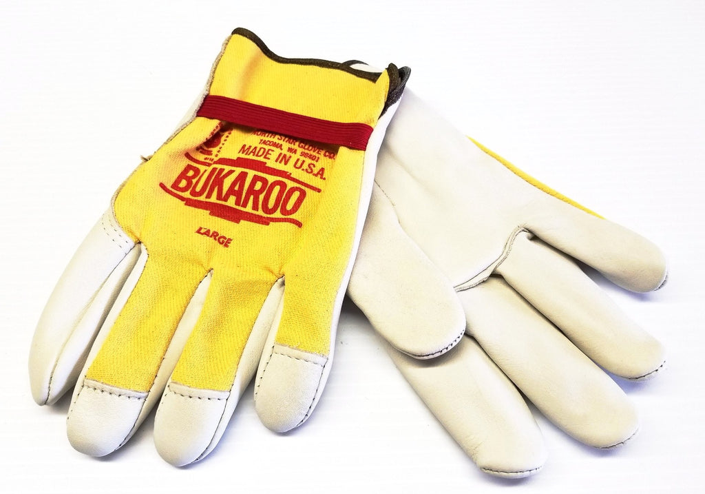 North Star Unlined Bukaroo Cowhide Palm Driver Gloves #310