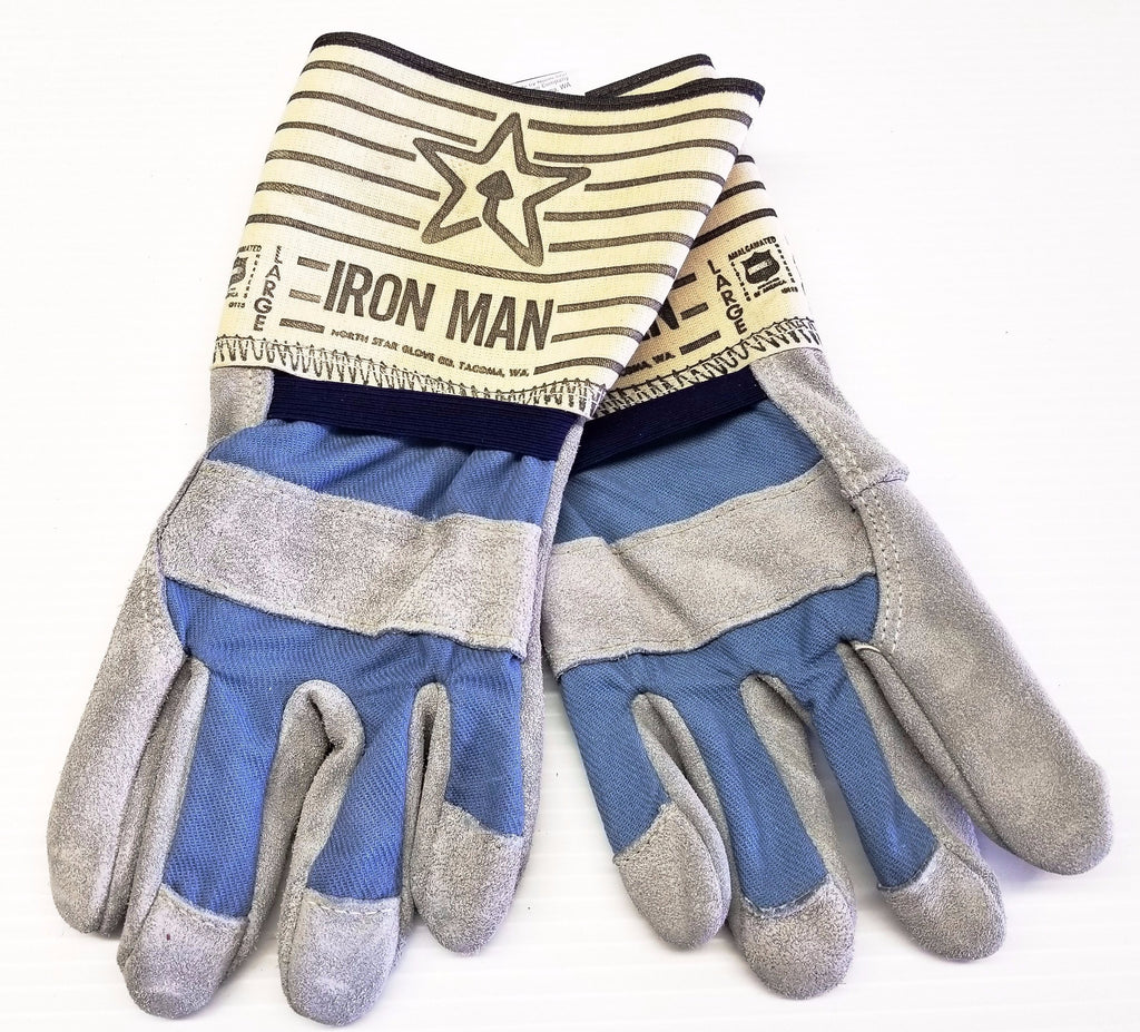North Star Iron Man Leather Gloves #6825