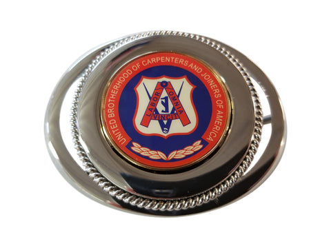 Union Carpenter Powerhouse Belt Buckle #BW-BB-CR