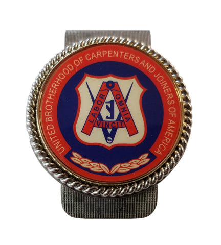 Union Carpenter Int Logo Money Clip #BW-MC-CR