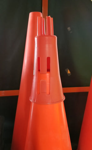 Traffic Cone Sign Holder