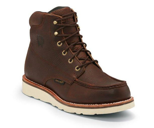 "Chippewa 6"" Edge Walker Waterproof Moc Toe #25341"