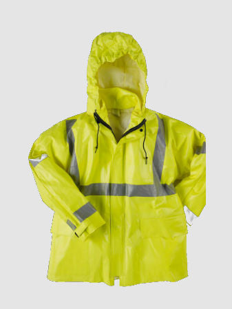 Neese Dura Arc II FR Rain Jacket with Tuck-Away Hood