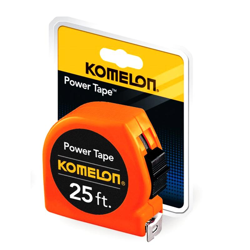 Komelon 'The Tradesmen' 25' Steel Power Tape #3725