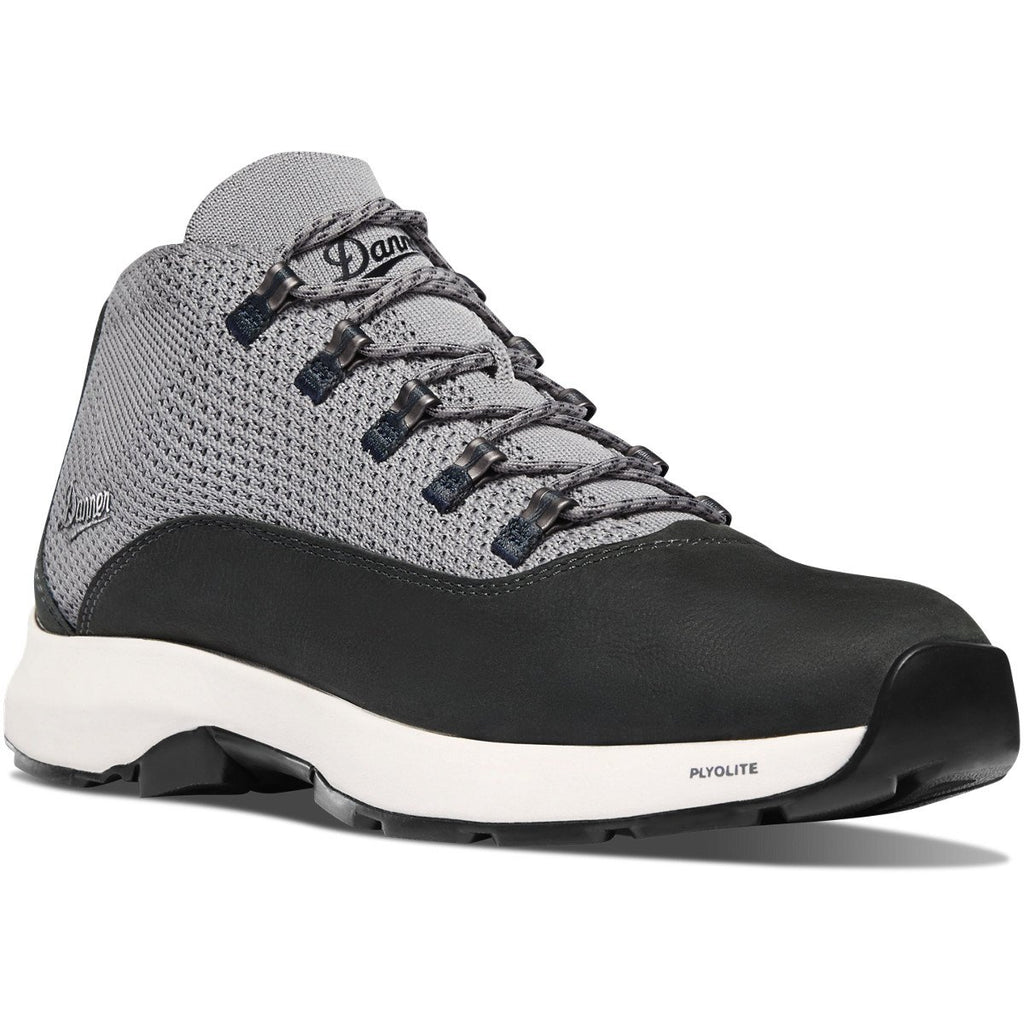 Danner lace up hiking shoe Caprice gray and black