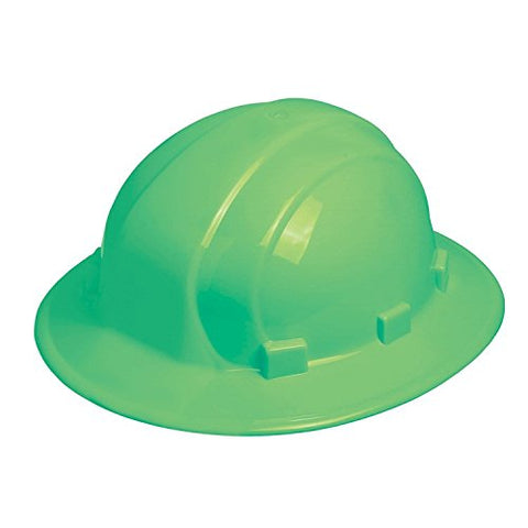 ERB Omega II Full Brim 'Glow In The Dark' Hard Hat #OMII STD GLO STK-02