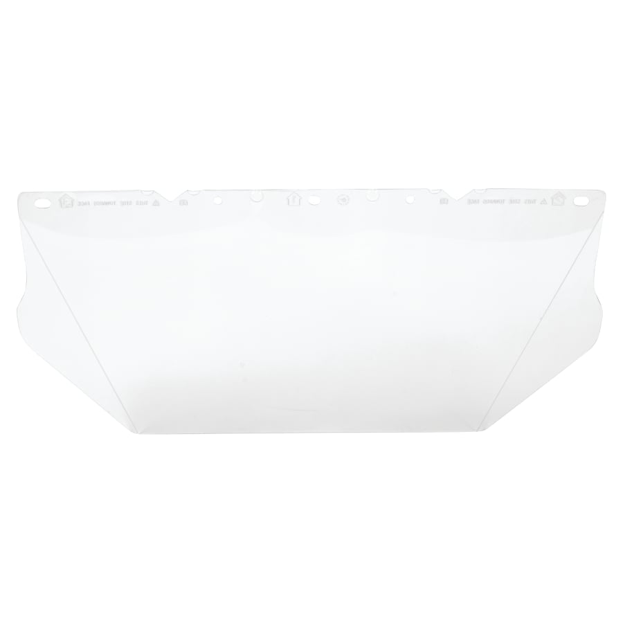 MSA 10115836 V-Gard Visor for General Purpose Clear Polycarbonte Visor