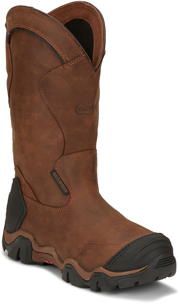 "Chippewa Atlas 12"" Pull-On Safety-Toe Boots #50023"