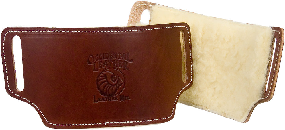 Occidental Leather Hip Pads with Sheepskin #5006