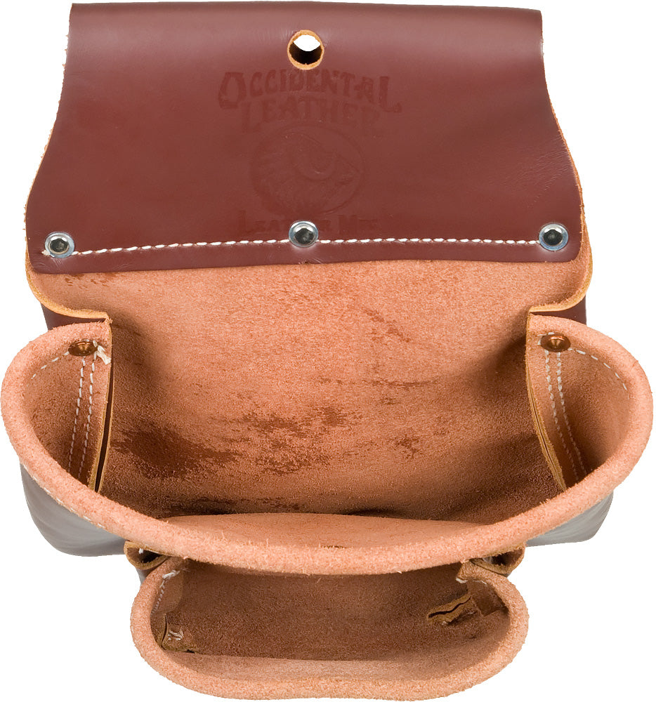 Occidental Leather Two Pouch Bag #5023B