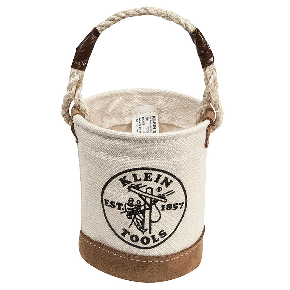 Klein Mini Leather-Bottom Bucket #5104