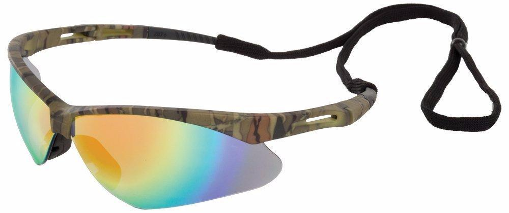 ERB Octane Camo Mirror Safety Glasses #15340