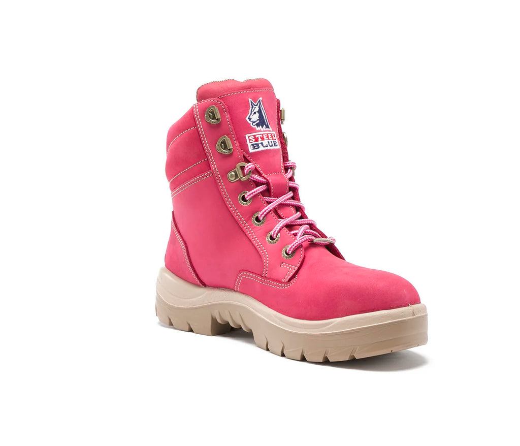 Steel Blue Ladies Southern Cross Steel Toe PINK #522860