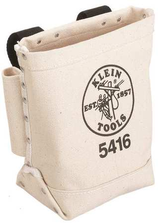 Klein Two Loop Canvas Bolt Bag #5416