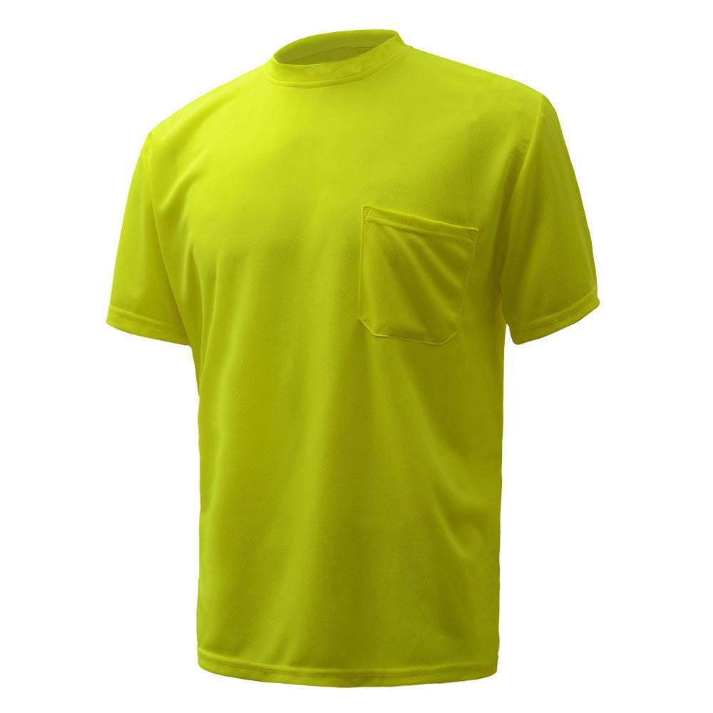 GSS Safety Waffle Knit HI-VIS Pocket T-Shirt