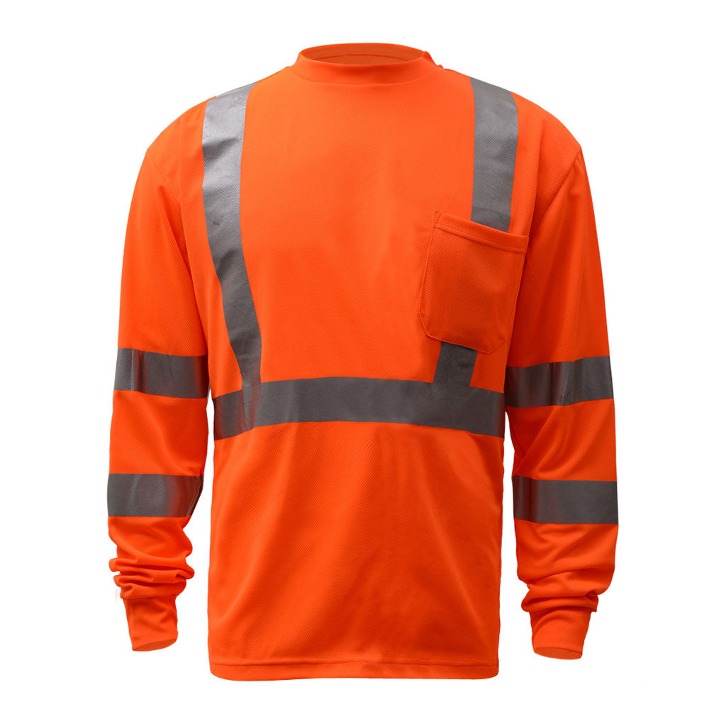 GSS Safety Class 3 Long Sleeve T-Shirt #5506