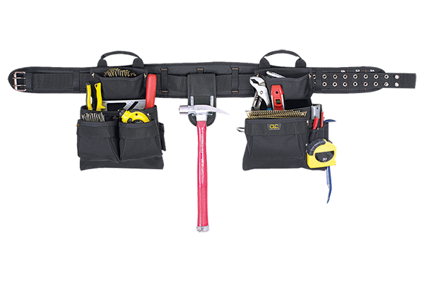 CLC 4 PIECE CARPENTER'S COMBO TOOL BELT