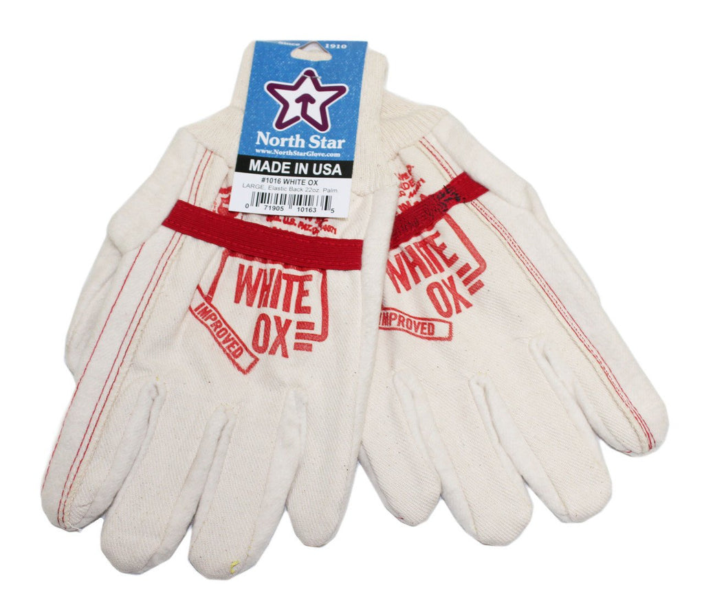 North Star White Ox Union Made Gloves #1016
