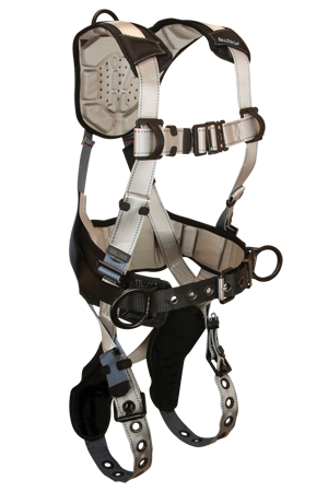 FallTech Full Body Belted Construction Harness #7088