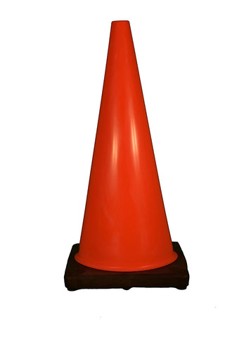 Traffic Safety Cones Non-Reflective